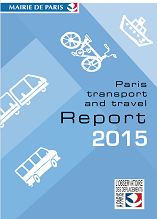 Paris transport and travel Report 2015 English version {PDF}